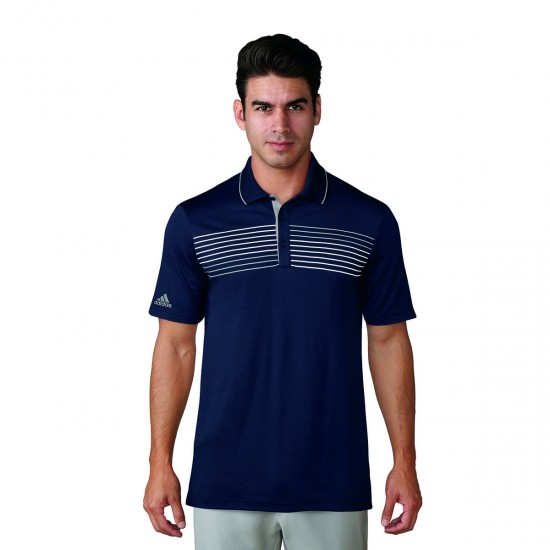 Adidas Essential Textured Tipped Polo HE