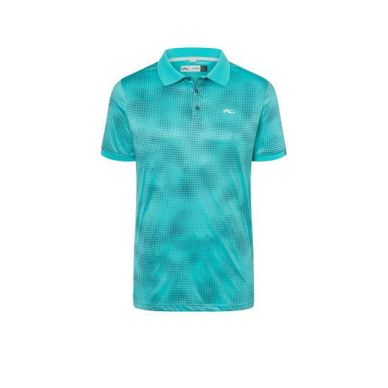 Kjus Men Spot Printed Polo SS
