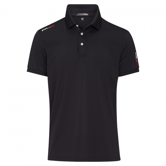 Ralph Lauren Active-Fit Polo Schwarz