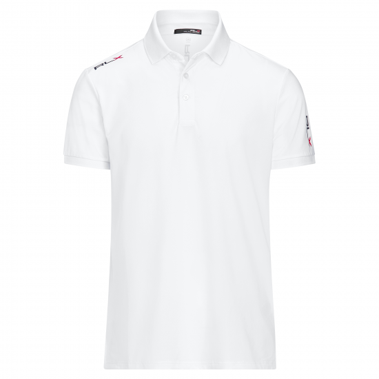 Ralph Lauren Active-Fit Polo Weiss