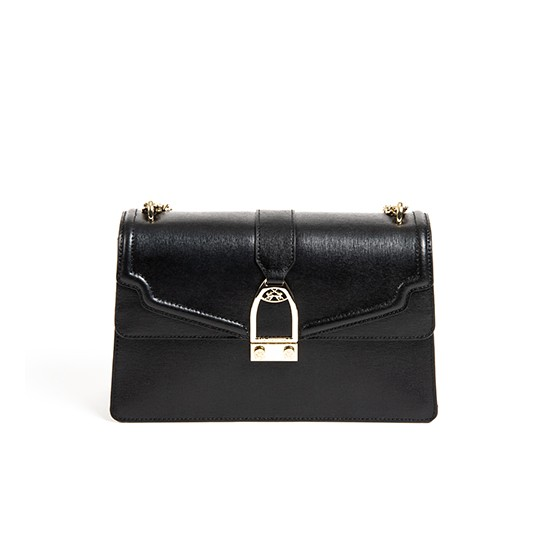 La Martina W Shoulder Bag La Portena Black