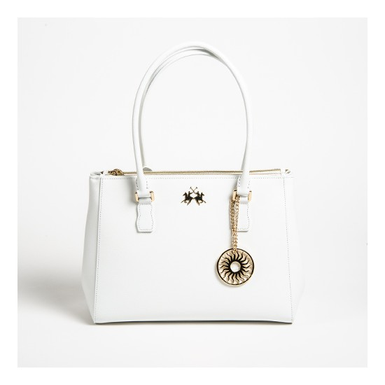La Martina Handbag Nevada Off White