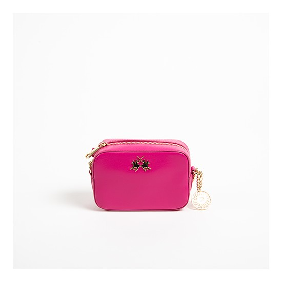 La Martina Shoulder Bag Nevada Fuchsia