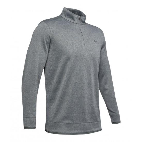 UA SweaterFleece 1/2 Zip Pitch Gray