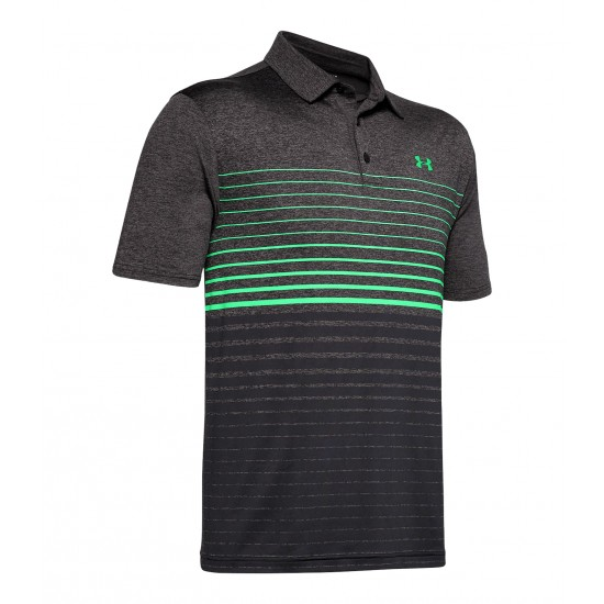 UA Playoff Polo 2.0 Gradiated Stripes