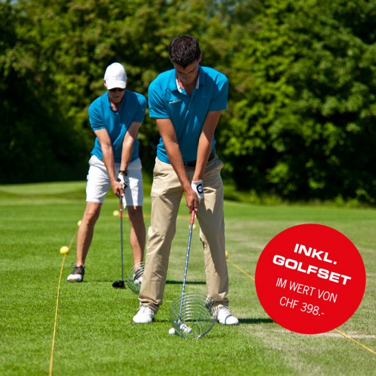 Golf Academy - Compact Kurs inkl. gratis Golfset im Wert von CHF 398.00