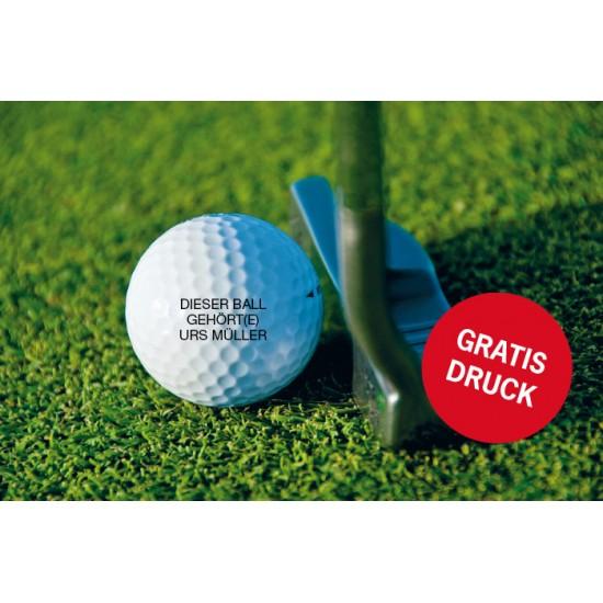 Titleist Golfbälle mit gratis Personalisierung